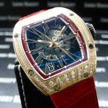 Richard Mille [NEW] RM 023 Rose Gold Med Set Diamonds