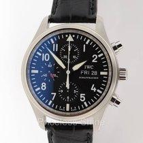 IWC Fliegeruhr Pilot Chrono 3717 Chronograph Day & Date...