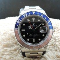 劳力士  (Rolex) 16700 GMT MASTER Pepsi Red/Blue Bezel