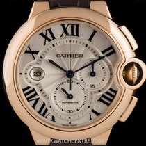Cartier 18k Rose Gold Ballon Bleu de Cartier ChronoXL B&P...