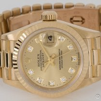 Rolex - Ladies Datejust President : 69178 champagne dial on...