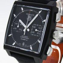 TAG Heuer Monaco Calibre 12 Chronograph Automatik Stahl/Titan...