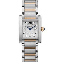 Cartier Tank Francaise Mens Quartz in 2 Tone