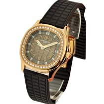 Patek Philippe 5068R Lady's Aquanaut Luce with Diamond Bezel