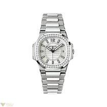 Patek Philippe Nautilus Ladies 18K White Gold Watch