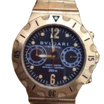 Bulgari Diagono Proffesional GMT 3 Time Zone