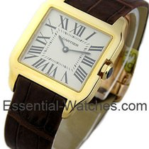 Cartier Santos Dumont Small Size in Yellow Gold