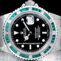 Rolex Submariner Date Emeralds Bezel 16610 SEL