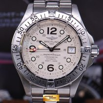 Breitling Superocean Aeromarine 42mm A17360 White Automatic...