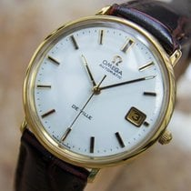 Omega Deville Swiss Made Mens Automatic 1960s Gold Plated...