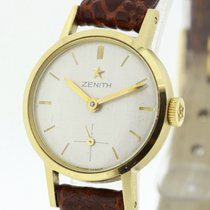 Zenith Vintage Ladies Watch solid 18K Yellow Gold Cal. 88...