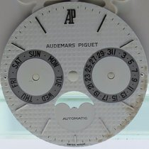 愛彼 (Audemars Piguet) Mens  Royal Oak Moon Automatic White Dial...