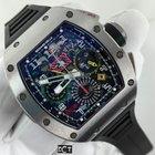 Richard Mille Titanium GMT Flyback Chronograph Dual Time Zone
