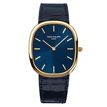 Patek Philippe 3738/100J Yellow Gold Men Golden Ellipse [NEW]