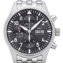 IWC Fliegeruhr Chronograph Spitfire Edelstahlband IW377719