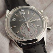 Patek Philippe Annual Calendar Chronograph 5960P Platinum Grey...