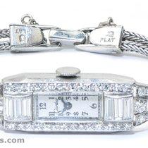 Cartier Antique Cartier Platinum Diamond Art Deco Ladies...