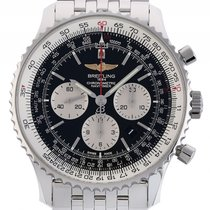 Breitling Navitimer 01 Stahl Automatik Chronograph Stahlband 46mm