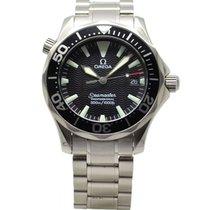 Omega Seamaster 300m Quartz Watch 36.25mm Black Dial 2262.50.00