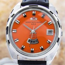Orient Aaa Swimmer Mens Rare Vintage Weekly Auto 1960s...