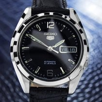 Seiko 5 Automatic Stainless Steel Day/date Mens Watch 80's...