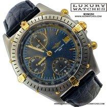 Breitling Chronomat B13047 81950 blue dial 1991's