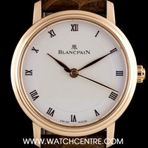 Blancpain 18k Rose Gold Ultra Slim Villeret Ladies 6102-3642-55A