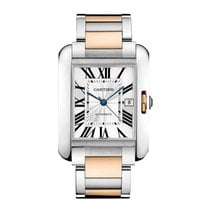 Cartier Tank Anglaise Automatic Mens Watch Ref W5310006