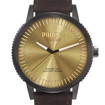 Puma PU104101006 Suede Herrenuhr 46mm 10ATM