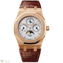 Audemars Piguet Royal Oak Perpetual 18K Rose Gold Watch