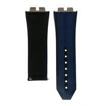 Hublot Blue & Black Leather Strap For Big Bang Unico Ref:...