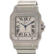 Cartier Santos Galbee XL Stainless Steel 2823
