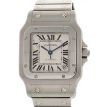 Cartier Santos Galbee XL Stainless Steel 2823