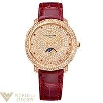 Patek Philippe Complications 33,3mm Rose Gold Diamond Paved...