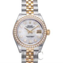 Rolex Lady Datejust White MOP Steel/18k Yellow Gold Dia 28mm -...