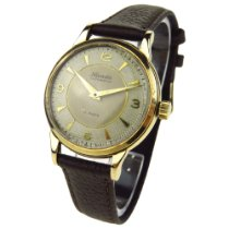 Nivada Vintage 9ct Gold Automatic
