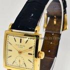 Patek Philippe Square Vintage 18k Yellow Gold Mens 18J Watch...
