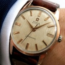 Omega Seamaster Automatic Automatik Linen dial pink gold