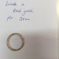 Rolex Lünette mit Brillantbesatz in Rosegold für Rolex Medium...