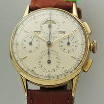 Universal Genève Tri Compax Chronograph 18k Gold