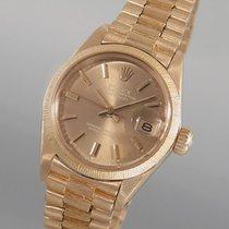 Rolex Oyster Perpetual Datejust 18K/750 Gelbgold -klassische...