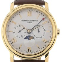 Frederique Constant Business Timer 40 Quartz Leather