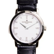 Vacheron Constantin Traditionnelle 18k Platinum White Quartz...