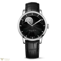 Arnold & Son HM Perpetual Moon Stainless Steel Men's...
