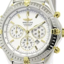Breitling Polished Breitling Shadow Flyback Chronograph Mop...
