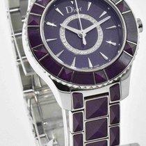 Dior Purple Christal CD143112M001 - Ladies Watch with Diamonds...