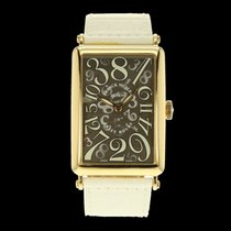 Franck Muller Long Island Crazy Hours Or jaune