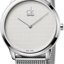ck Calvin Klein Minimal K3M2112Y Herrenarmbanduhr Swiss Made