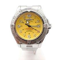 Breitling Stainless Steel Breilting SuperOcean Watch A17345