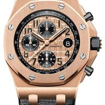 Audemars Piguet Royal Oak Off Shore Rose Gold Leather - 26470or